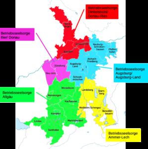 Aktiv in der ganzen Diözese Augsburg